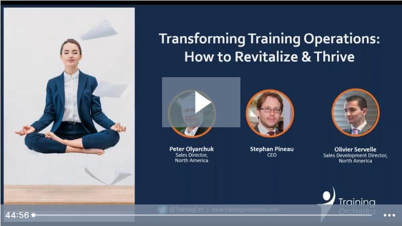 how to transform training operations with training management software