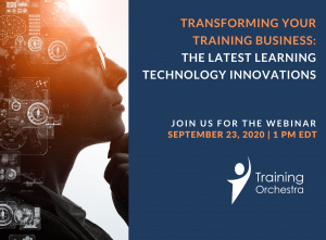 transforming your training business learning technology innovations webinar