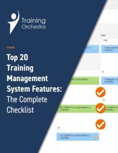 training management system features e-book