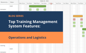 training operations management and logistics features
