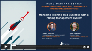on demand webinar training orchestra demo series managing training as a business