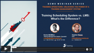 training orchestra demo series: training scheduling system vs lms
